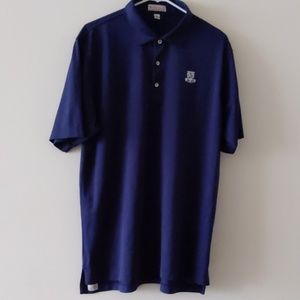 Peter Millar Summer Comfort Polo Top Navy Blue